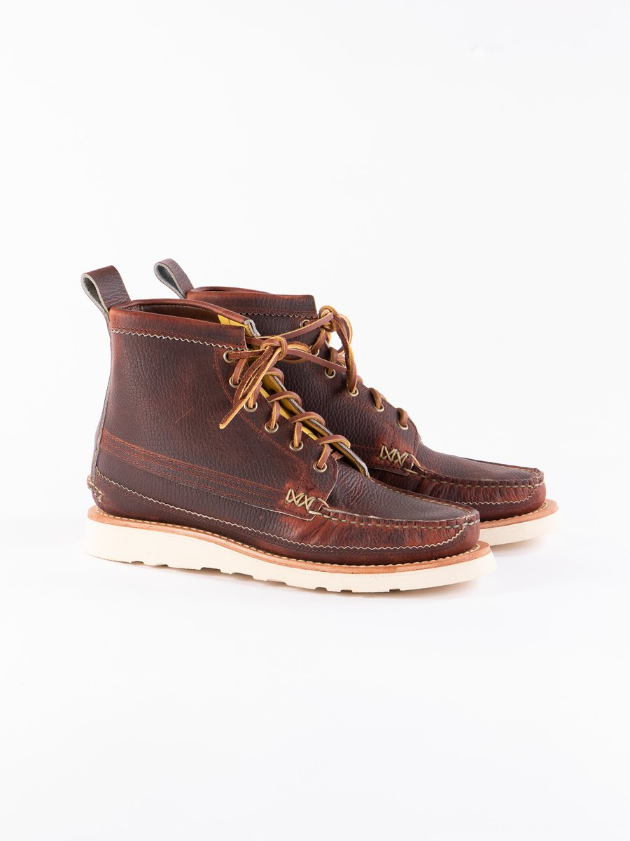 CP Brown Maine Guide 6 Eye DB Boot Exclusive