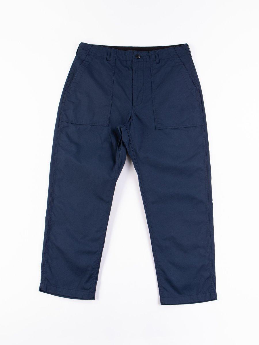 Navy 6.5oz Flat Twill Fatigue Pant
