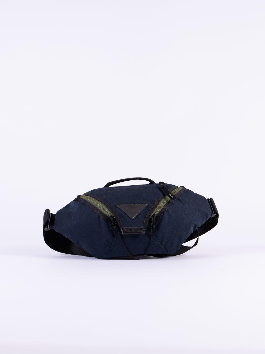 Navy Delta Waist Bag