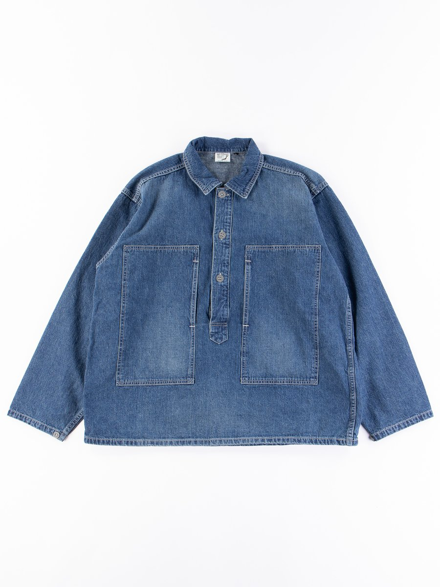 Used Denim PW Pullover Shirt