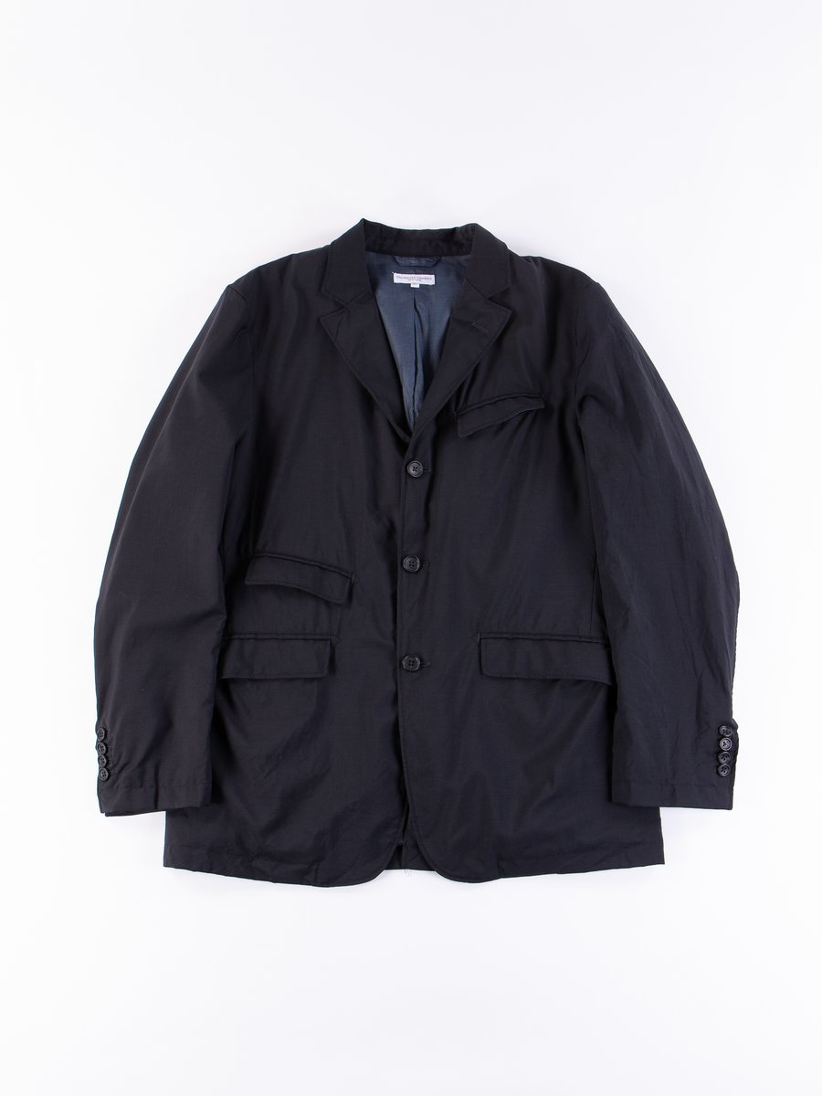 Dark Navy Tropical Wool Andover Jacket