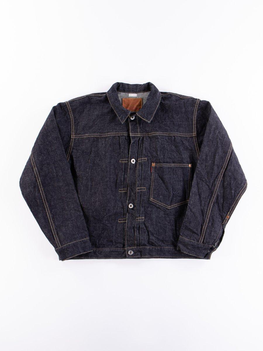 Indigo One Wash Denim Type I 2001XX Jacket