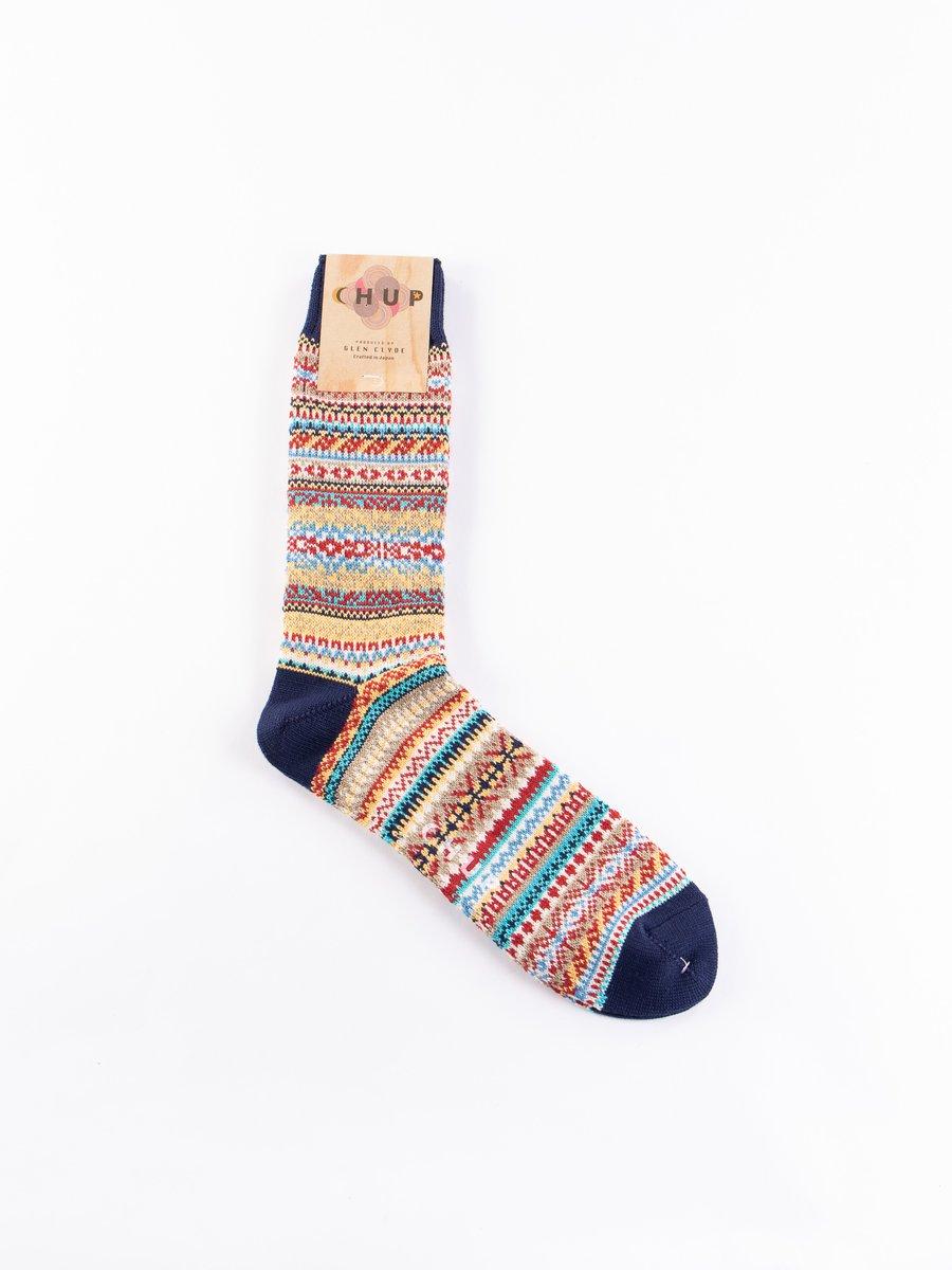 Peacock Blue Caislean Socks