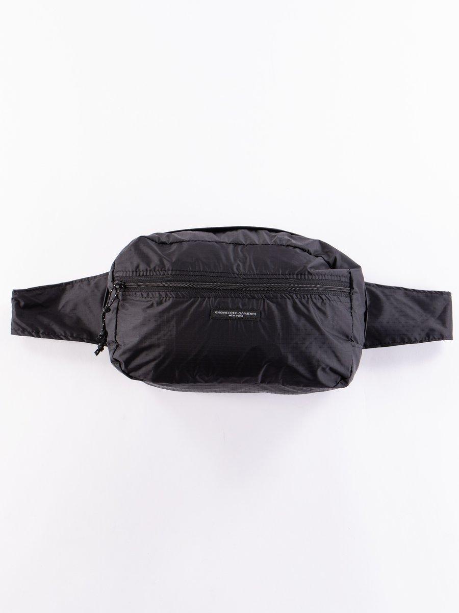 Black Nylon Ripstop UL Waistpack