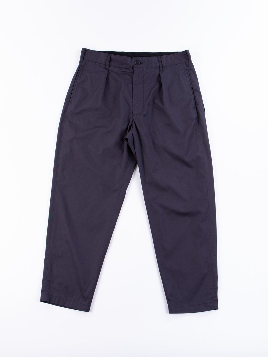 Dark Navy Highcount Twill Carlyle Pant