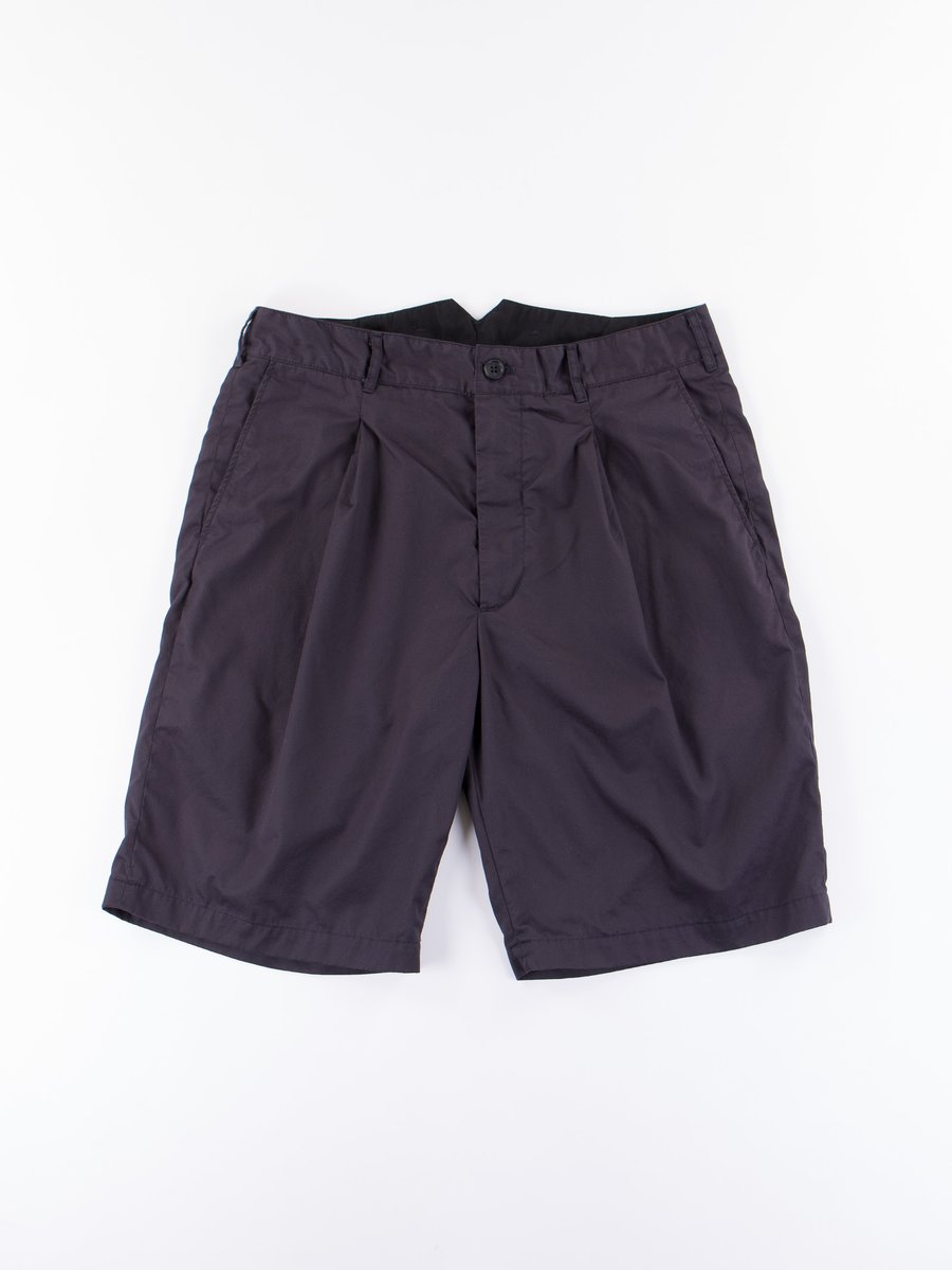 Dark Navy High Count Twill WP Short