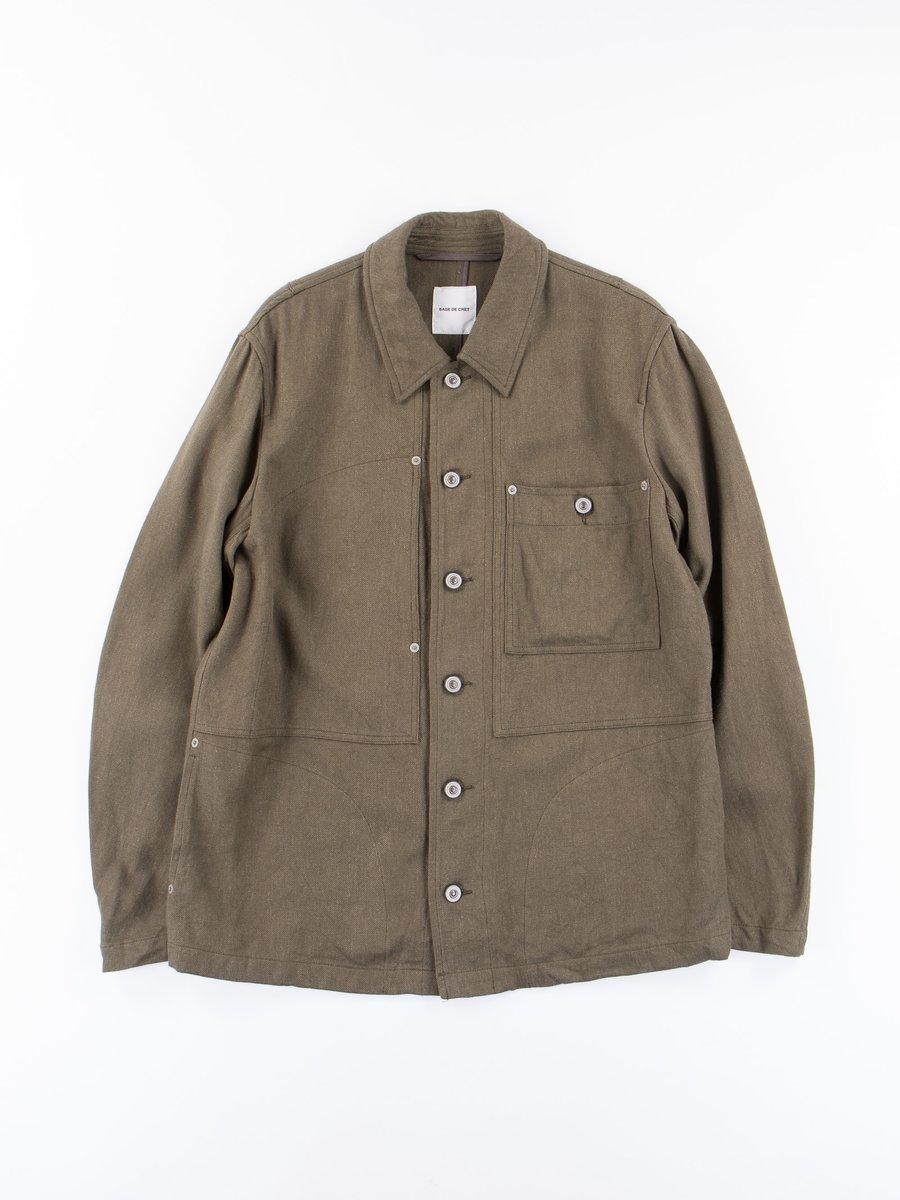 Olive Chore Jacket