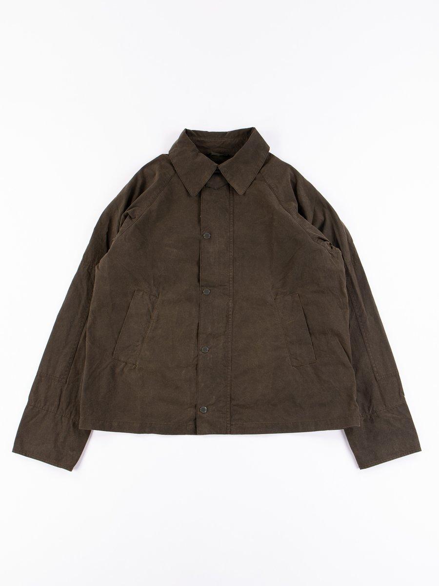 Olive Washed Graham Jacket