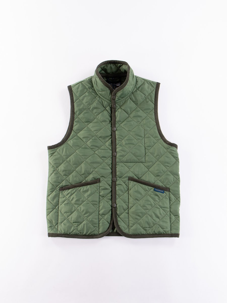Olive Green Mickfield Gilet