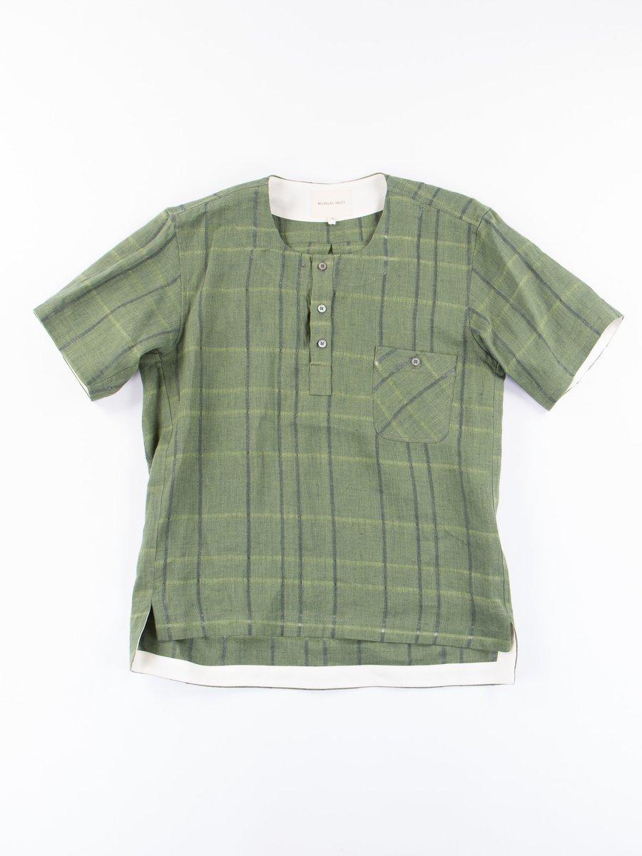 Green Check Classic Shirt