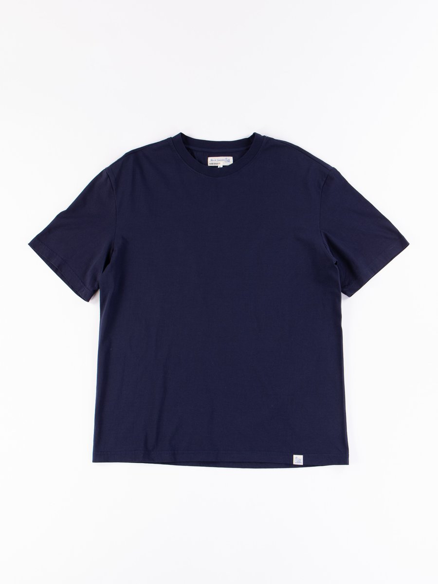 Deep Blue Good Basics CTOS01 Oversized Crew Neck Tee