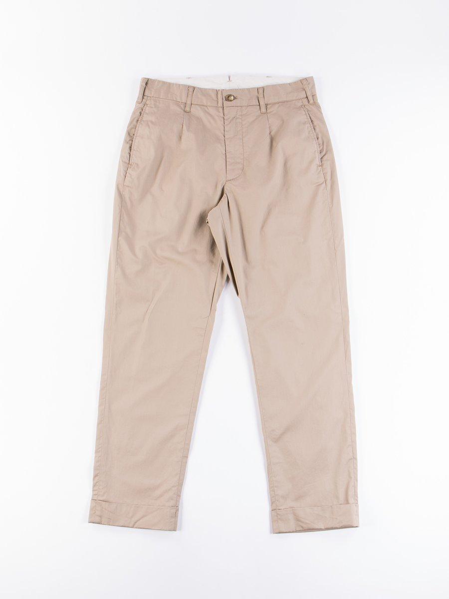 Khaki Highcount Twill Andover Pant