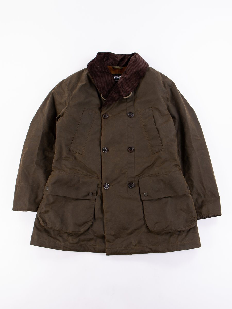 Olive Mackinaw Wax Jacket