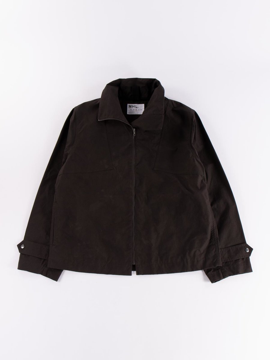 MHL WASHED WAX RESCUE JACKET CAROB