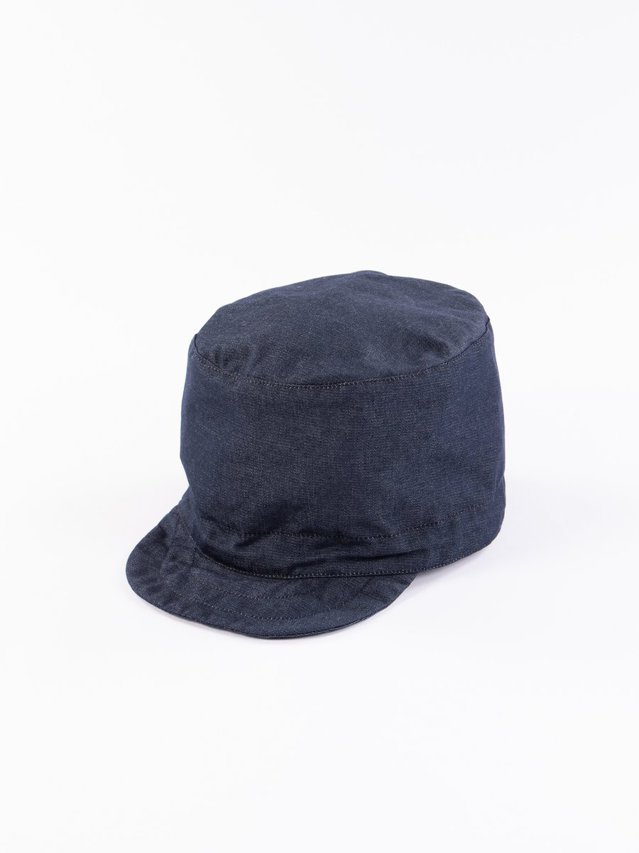 Indigo PC Denim FM Cap