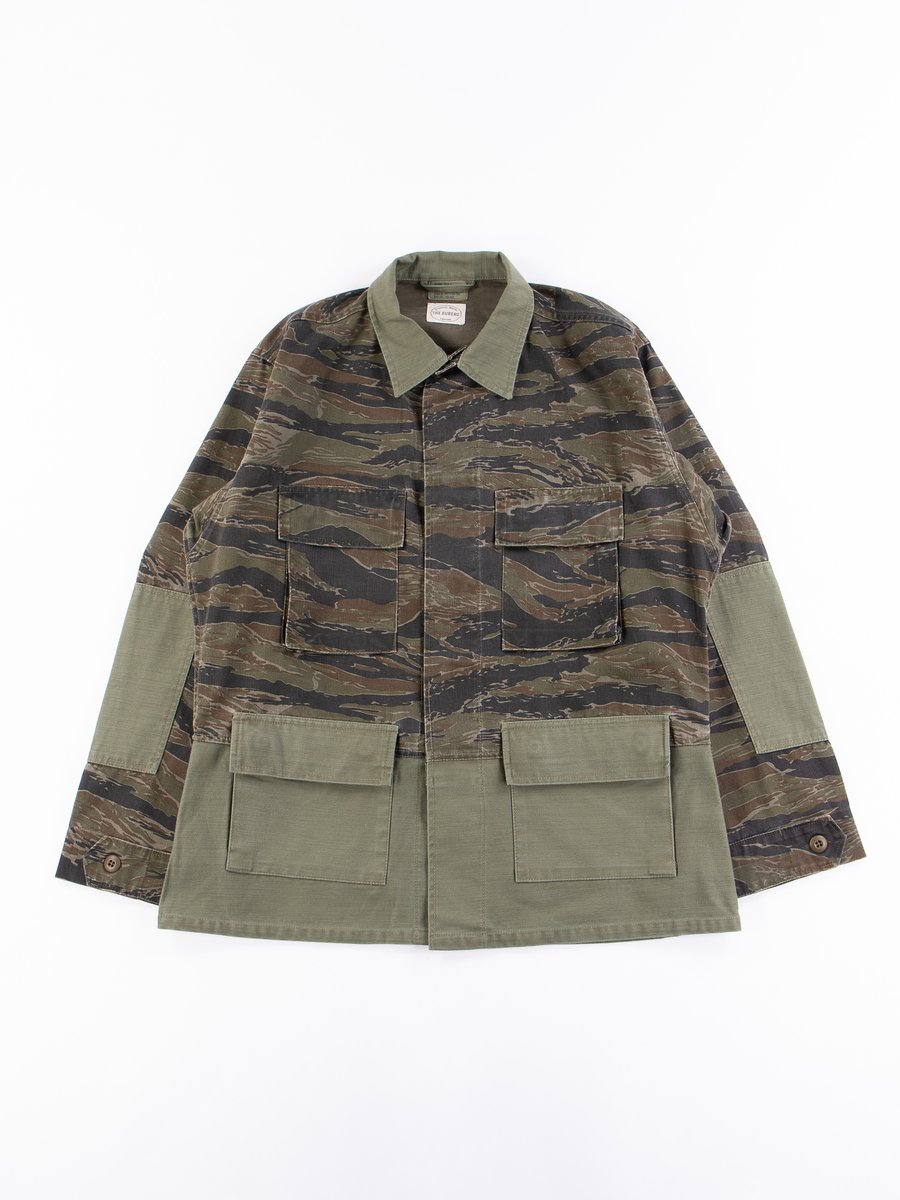 Reworks Camo/Olive Field Jacket