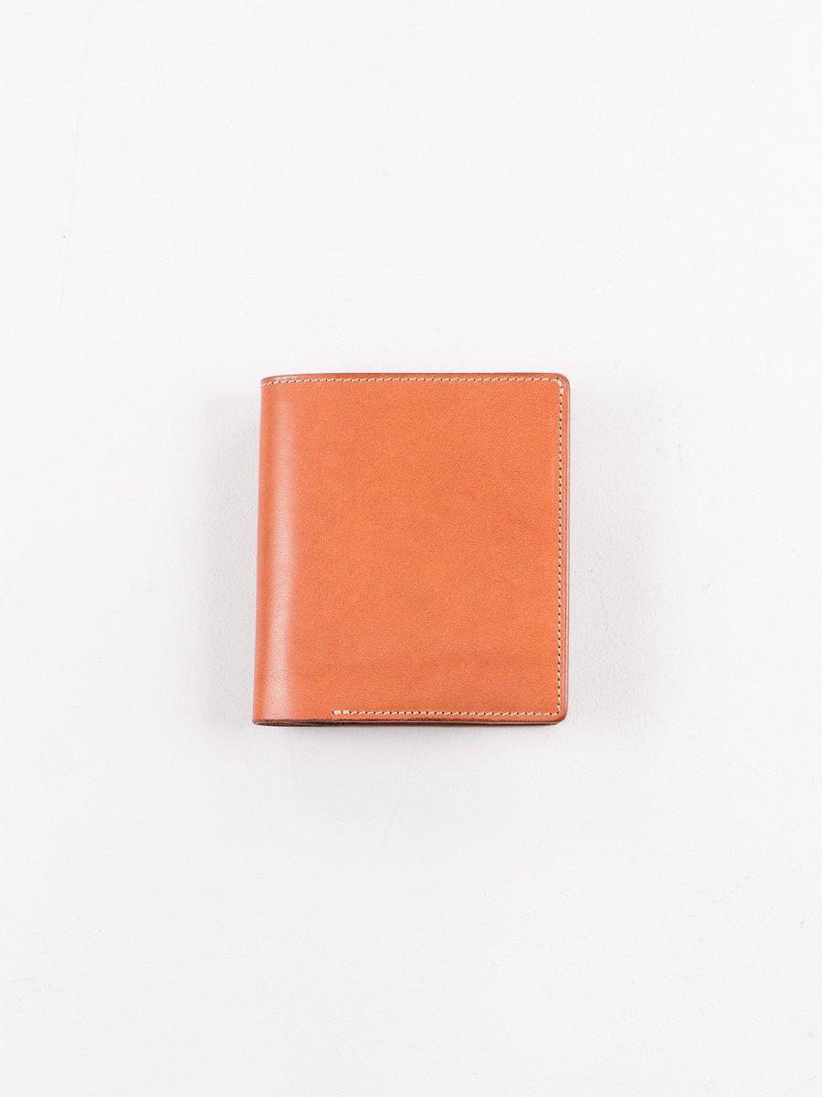 Cognac Italian Calf 2–1 Wallet