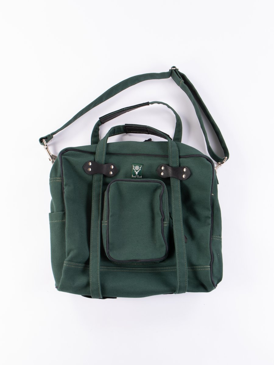 Hunter Green 18oz Canvas Painter Bag