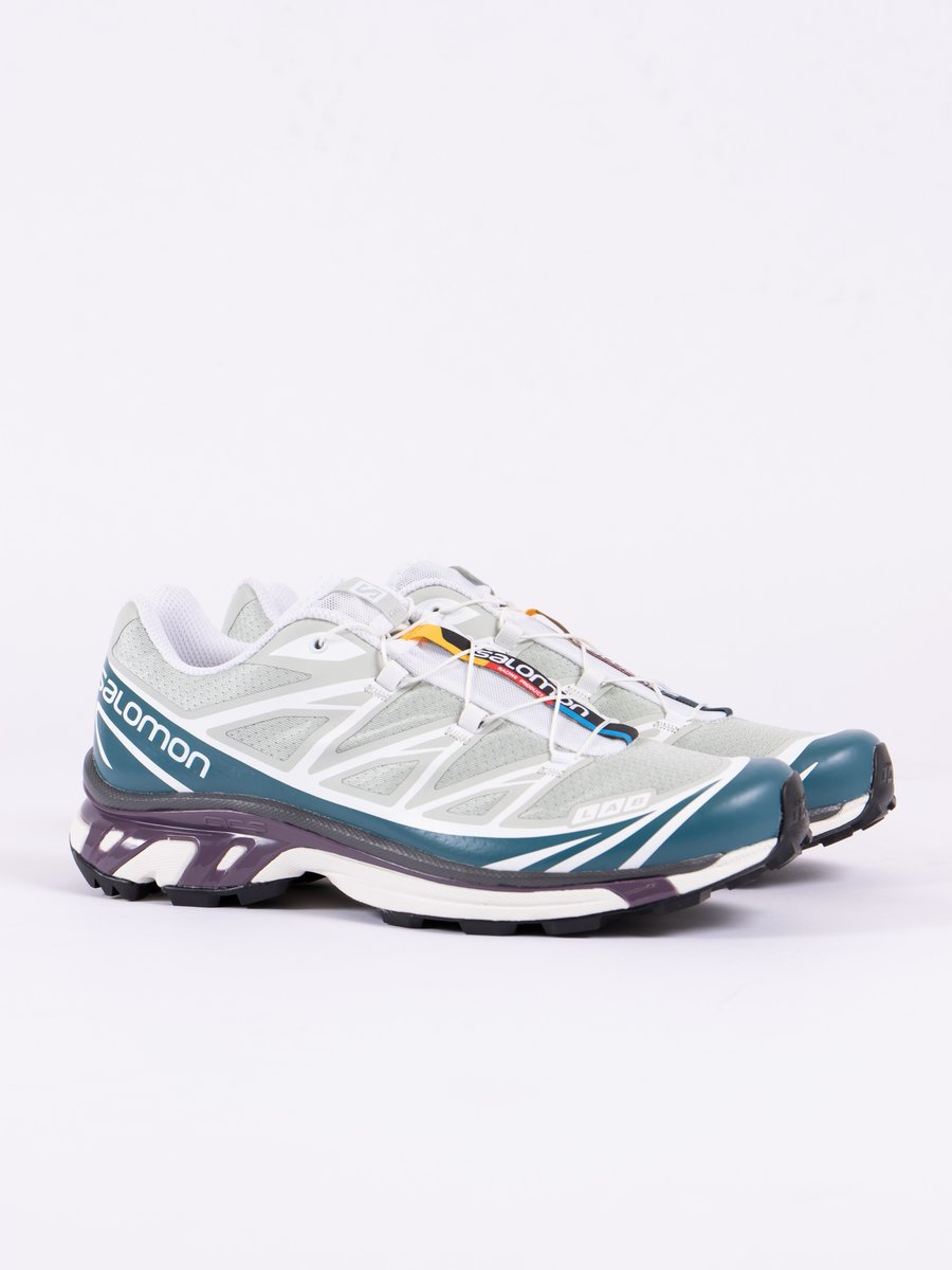 Mineral Gray/Mallard Blue/White XT–6 Softground Lt Adv