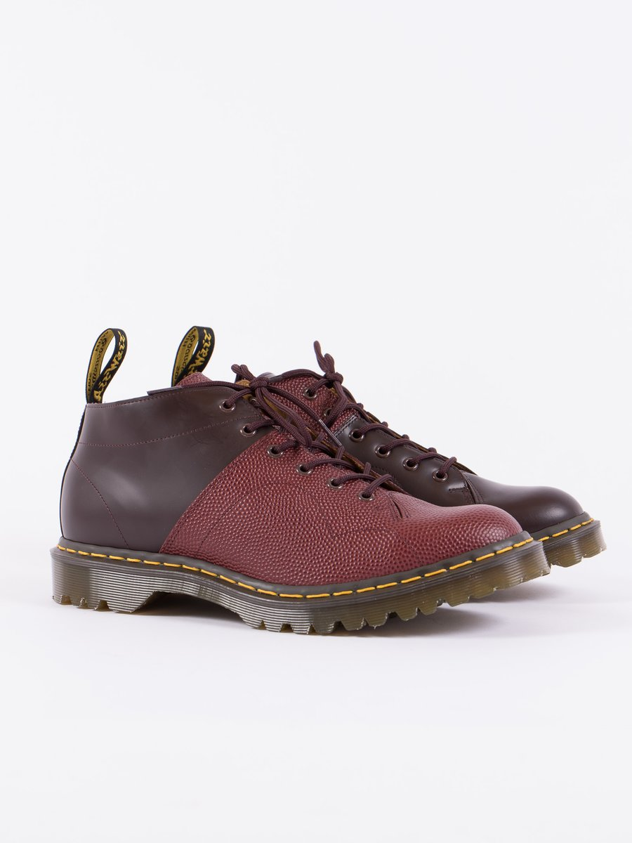 Oxblood EG X DM Smooth Leather & Pebble Church Boot