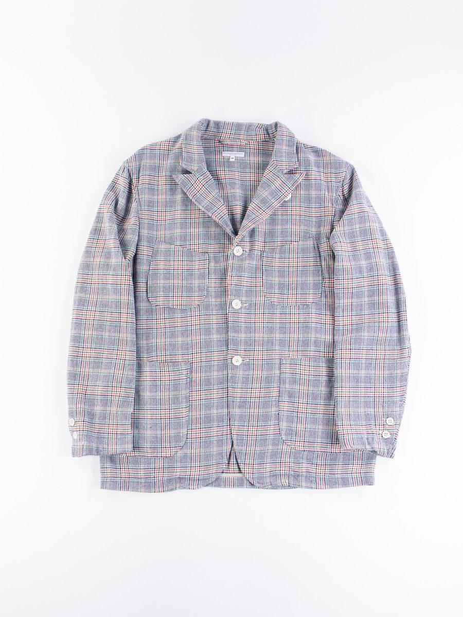 Navy/Green/Orange CP Glen Plaid NB Jacket