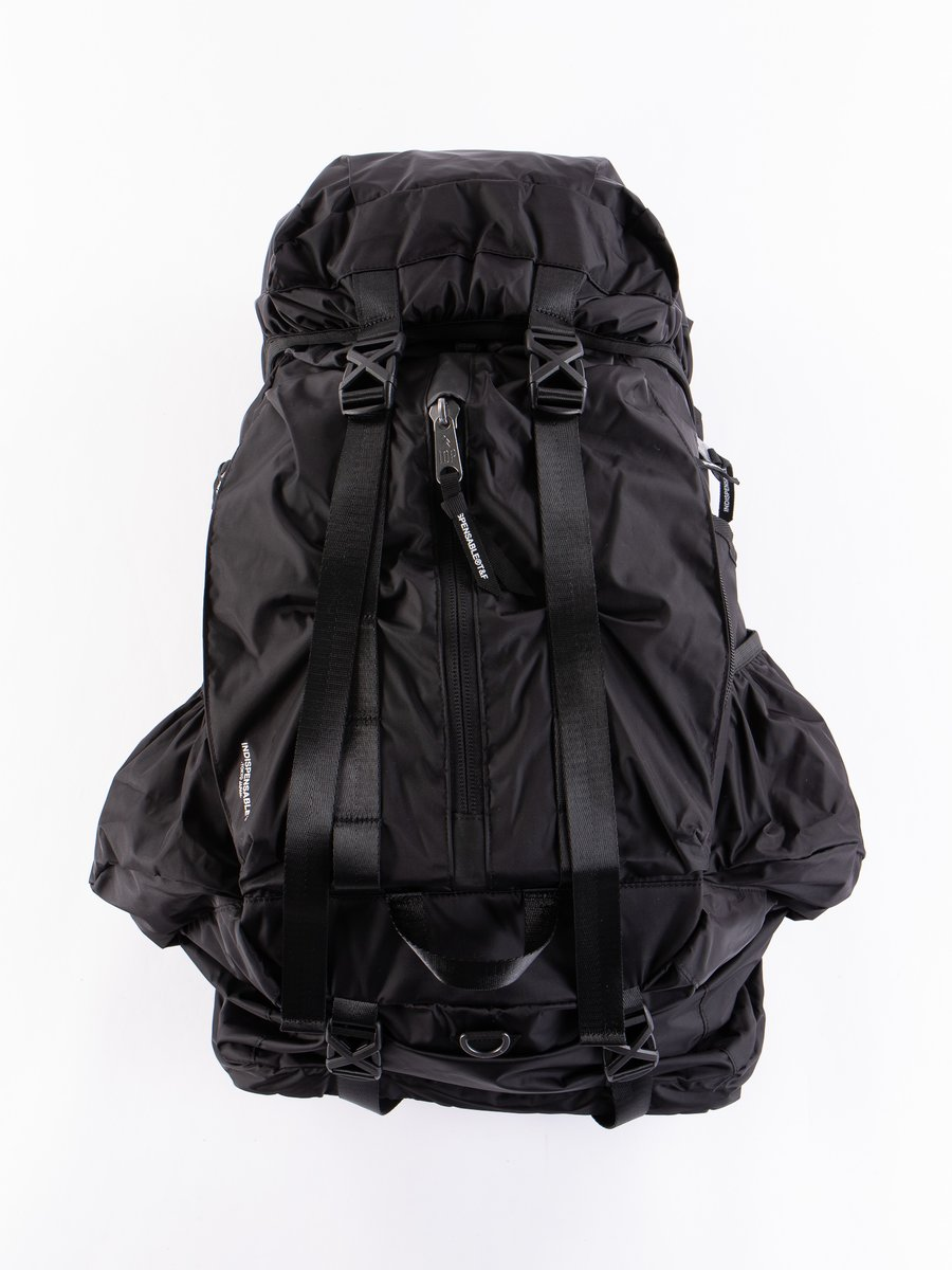 Black Econyl Xplorer Backpack