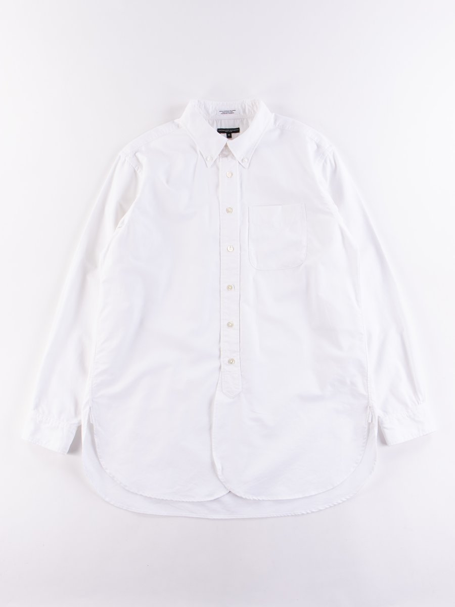 White Cotton Oxford 19th Century BD Shirt