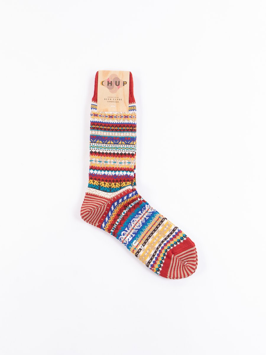 Scarlet Hostlov Socks