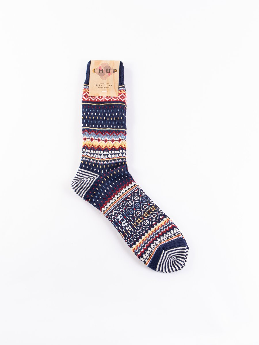 Space Blue Viti Socks