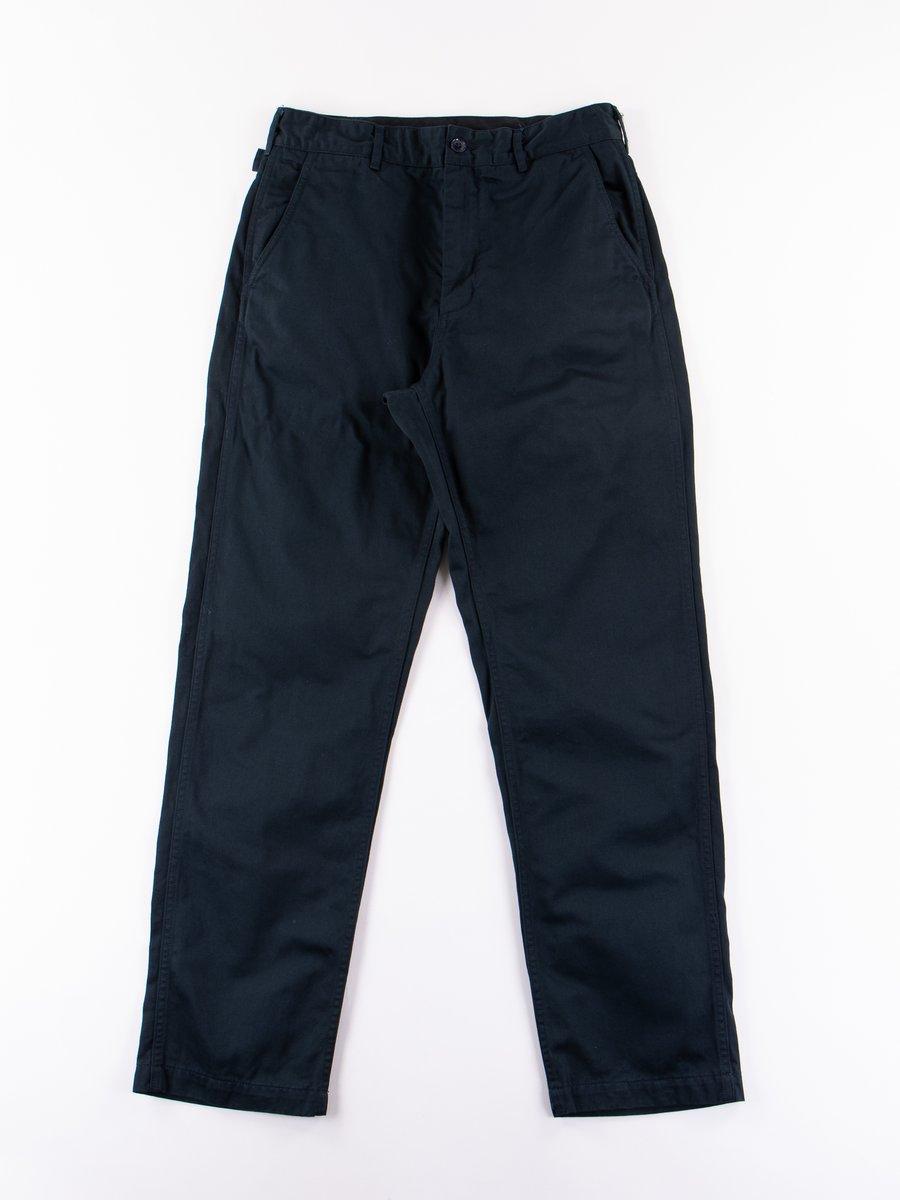 Dark Navy Chino Twill Ground Pant