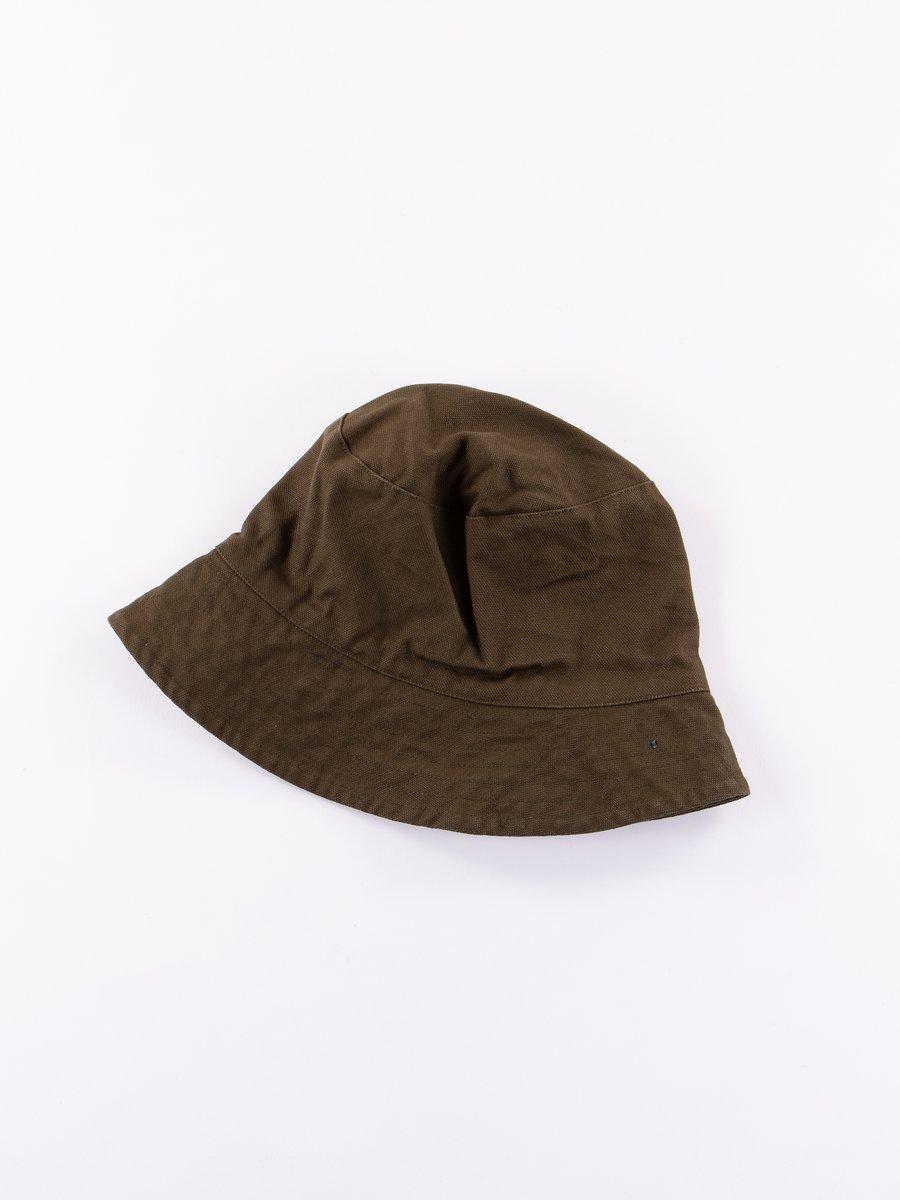 Olive 12oz Duck Canvas Bucket Hat