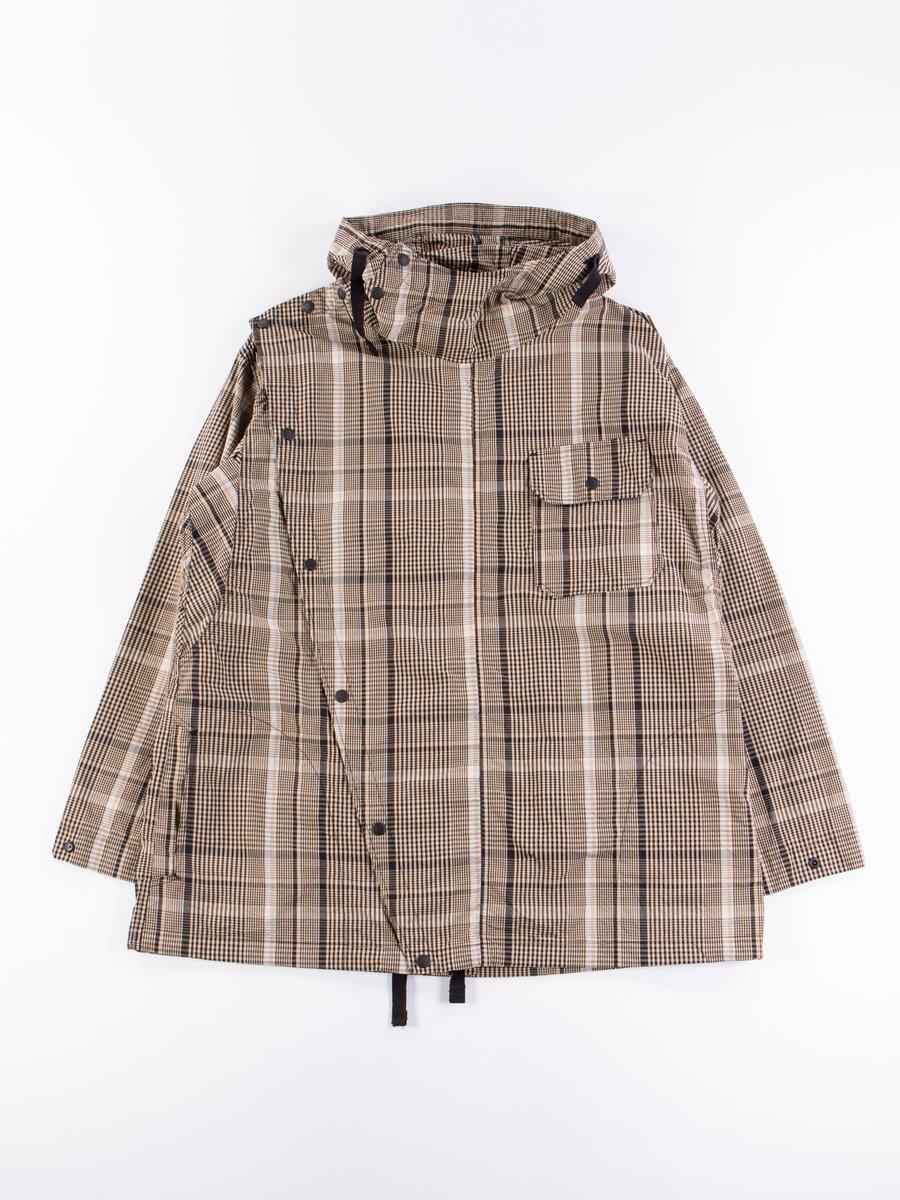 Beige/Black Nyco Plaid Sonor Shirt Jacket