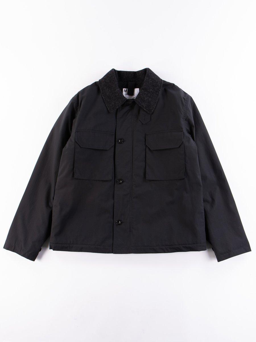 MHL Black Dry Plainweave Deck Jacket