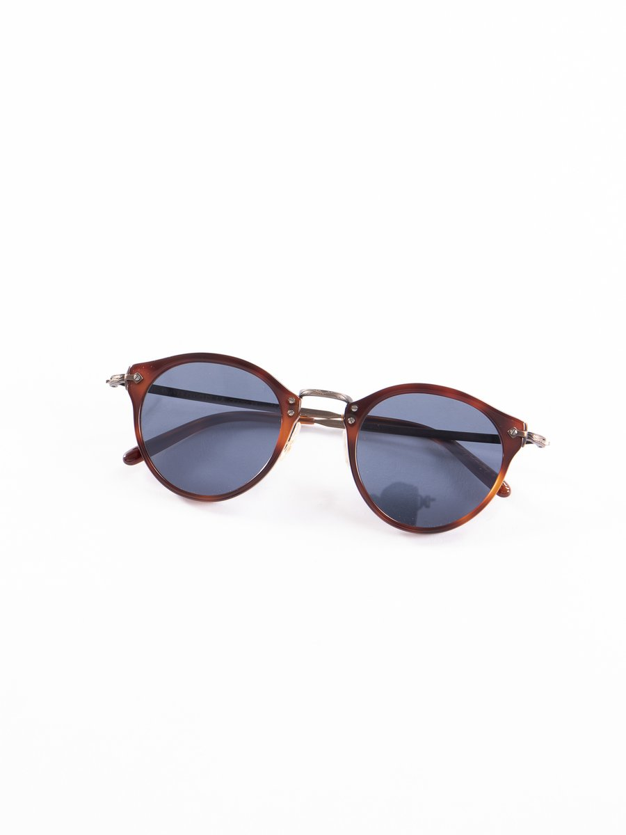 Dark Mahogany–Bronze–Blue OP–505 Sunglasses