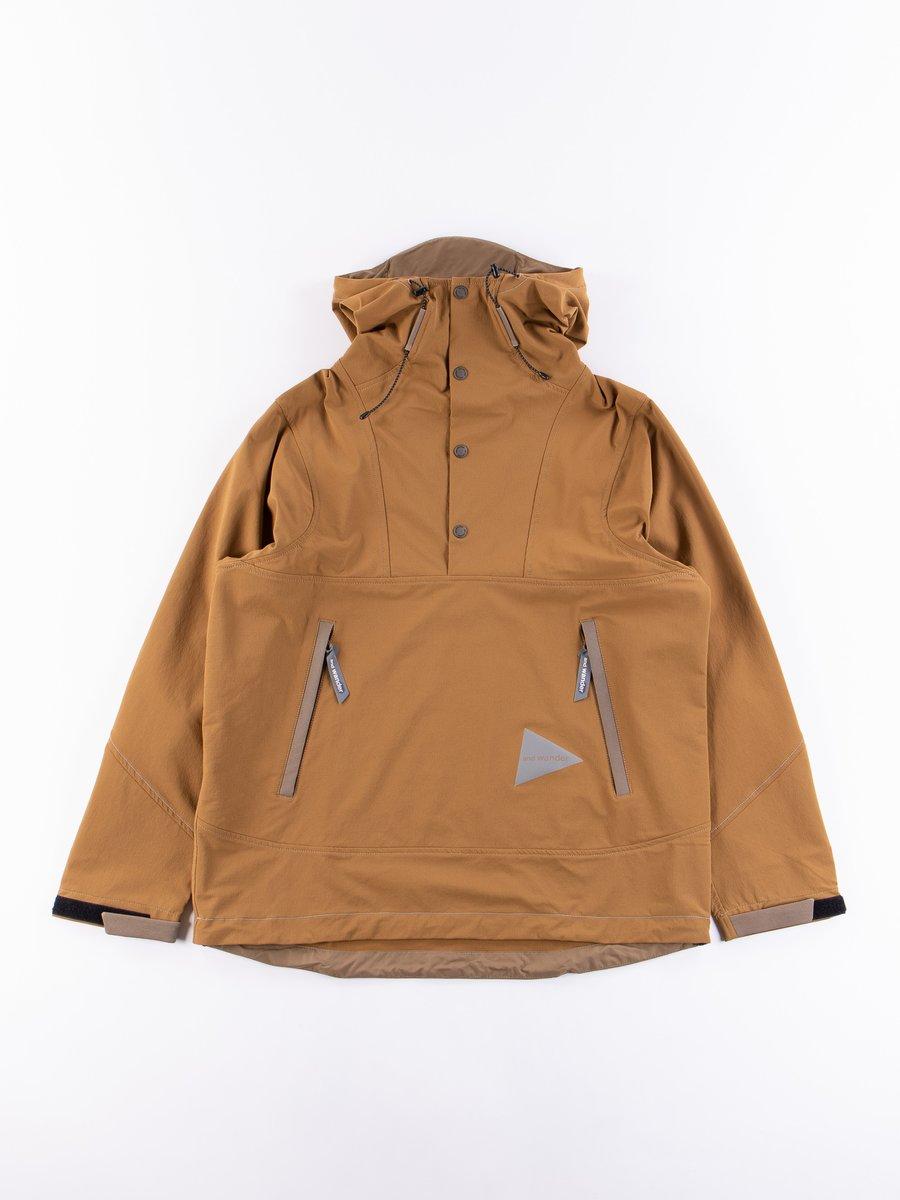 Beige Nylon Cloth Hoodie