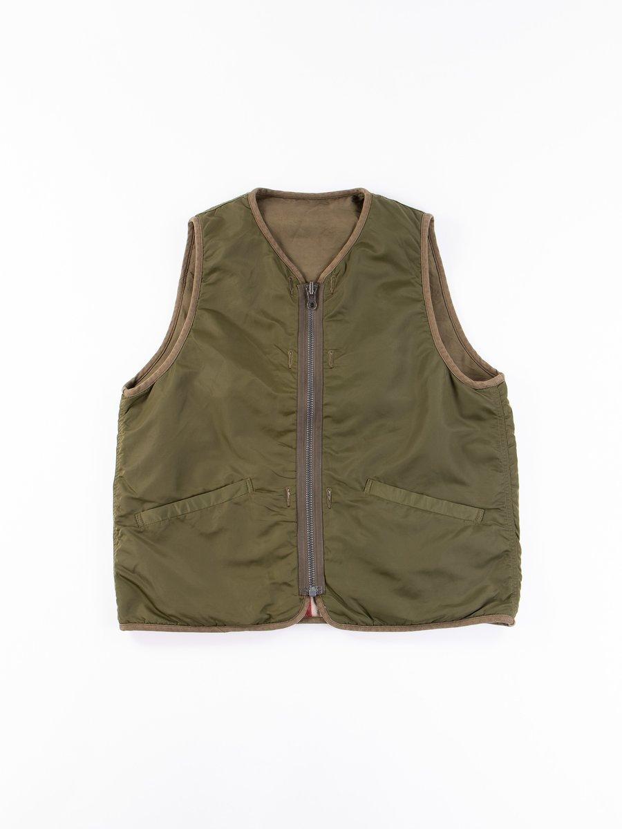 Olive Iris Liner Vest