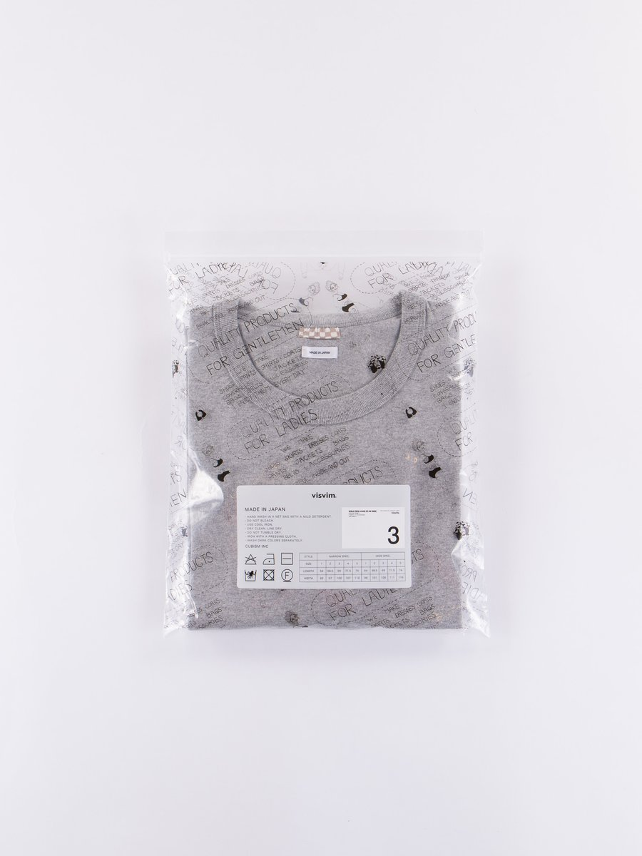 Grey 3–Pack Sublig Crew Tees Wide