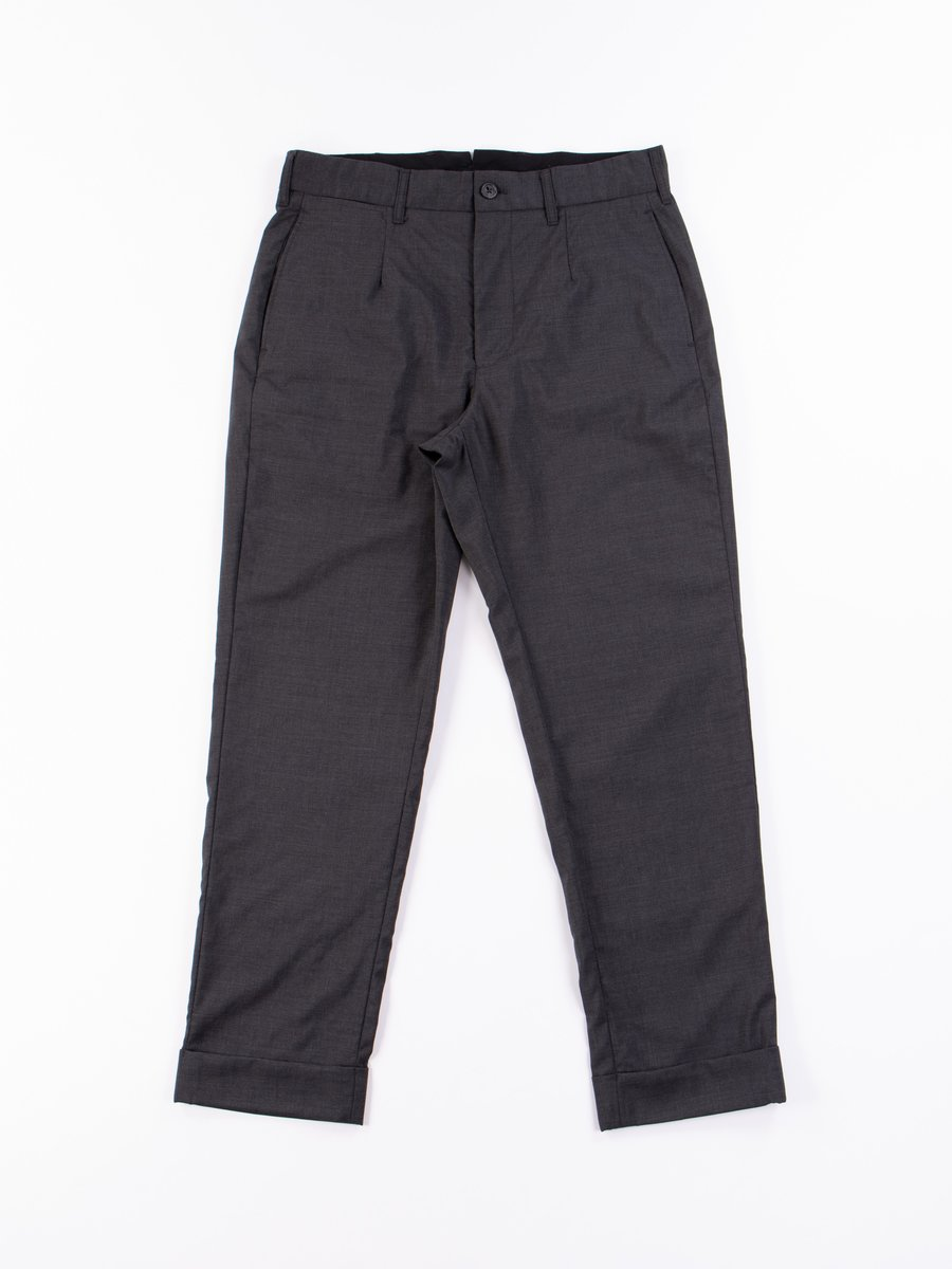 Grey Tropical Wool Andover Pant