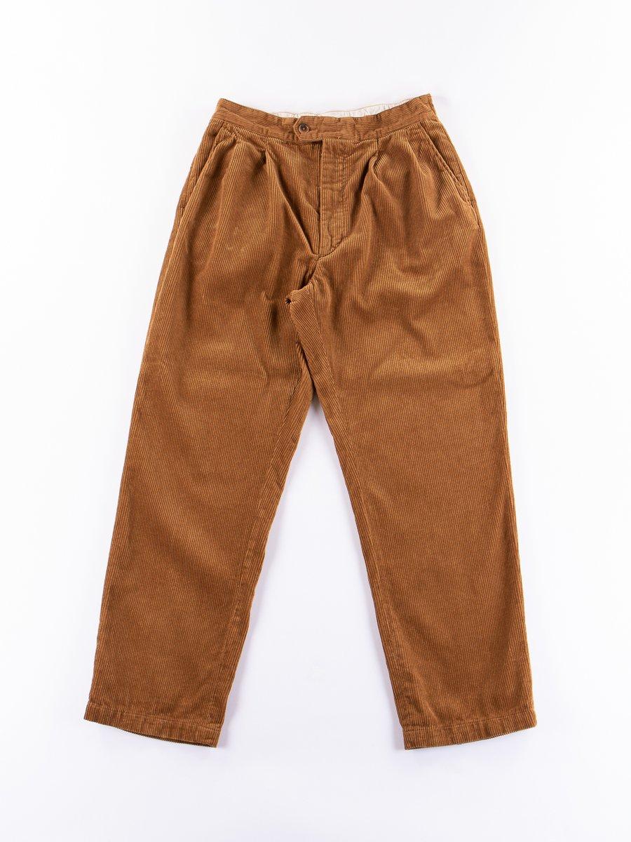 Chestnut 8W Corduroy Emerson Pant