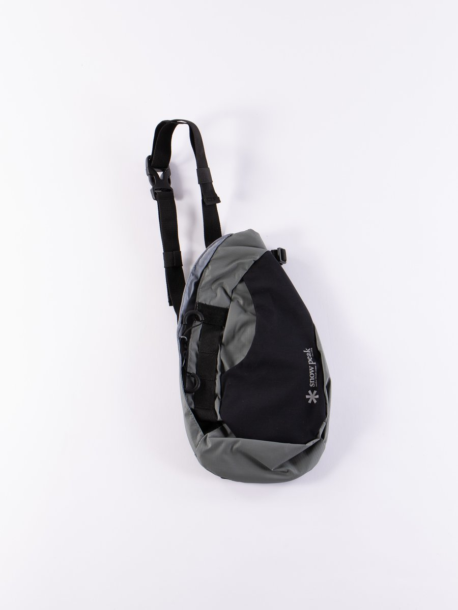 Grey Side Attack Bag