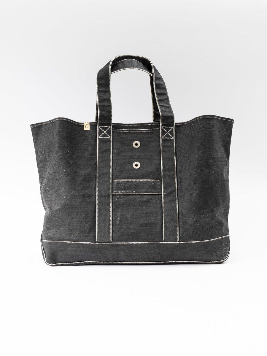 Black Canvas Homer XL Bag