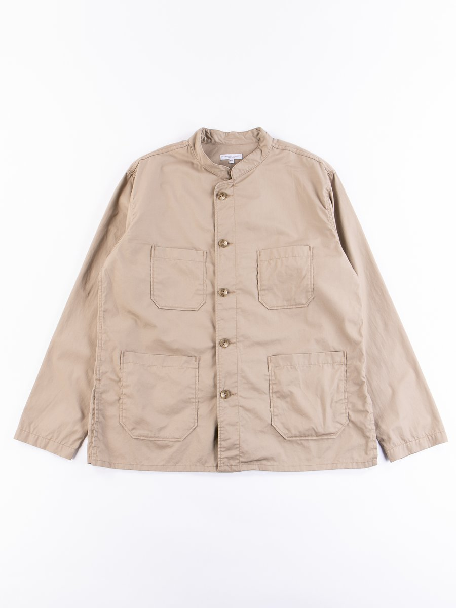 Khaki High Count Twill Dayton Shirt