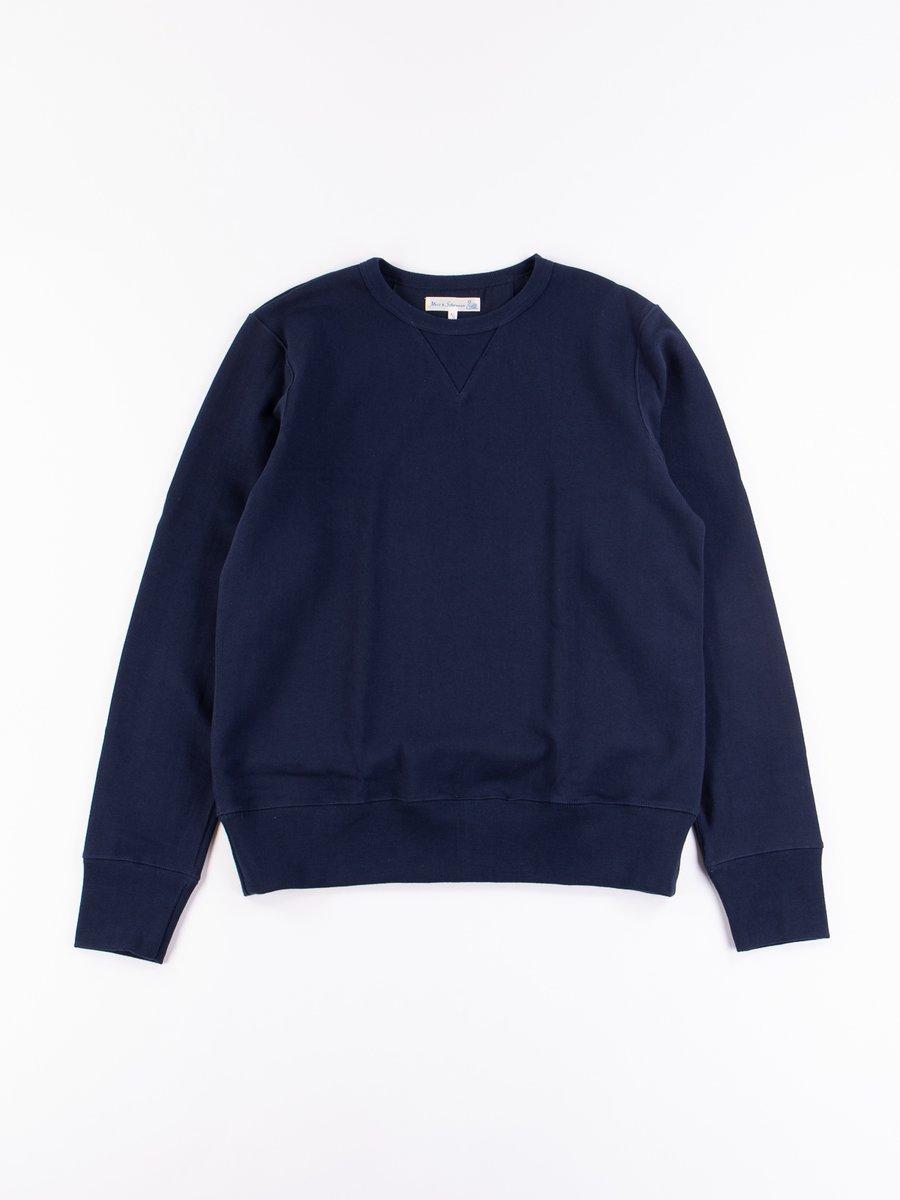 Ink Blue 3S48 Organic Cotton Heavy Sweater