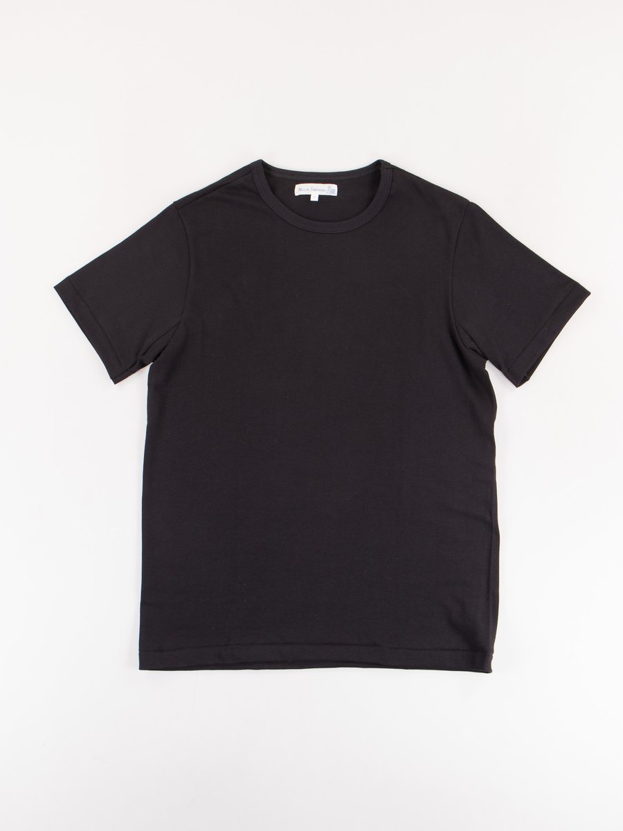 Deep Black 215 Organic Cotton Army Shirt