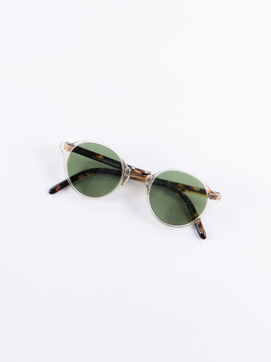 Buff/Green C OP–1955 Sunglases