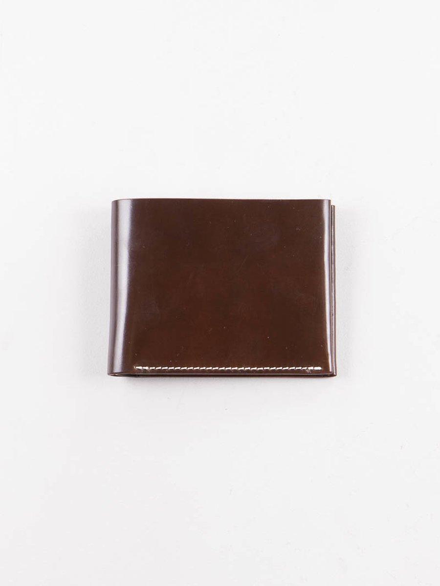Cognac Horween Cordovan 4–4 Wallet