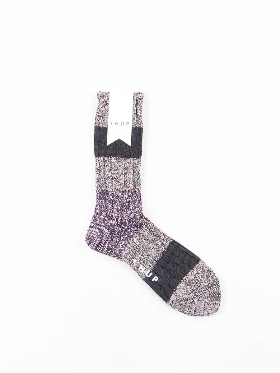 Grey Stratum Socks
