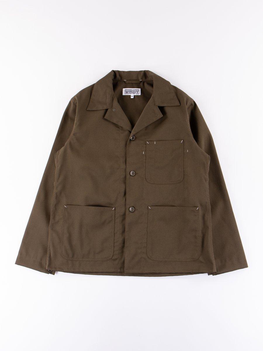 Olive Bedford Cord Utility Jacket