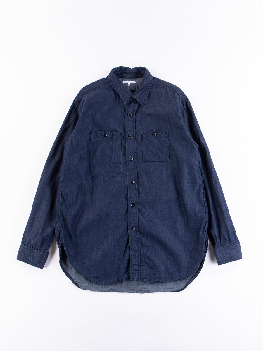Indigo 4.5oz Denim Work Shirt