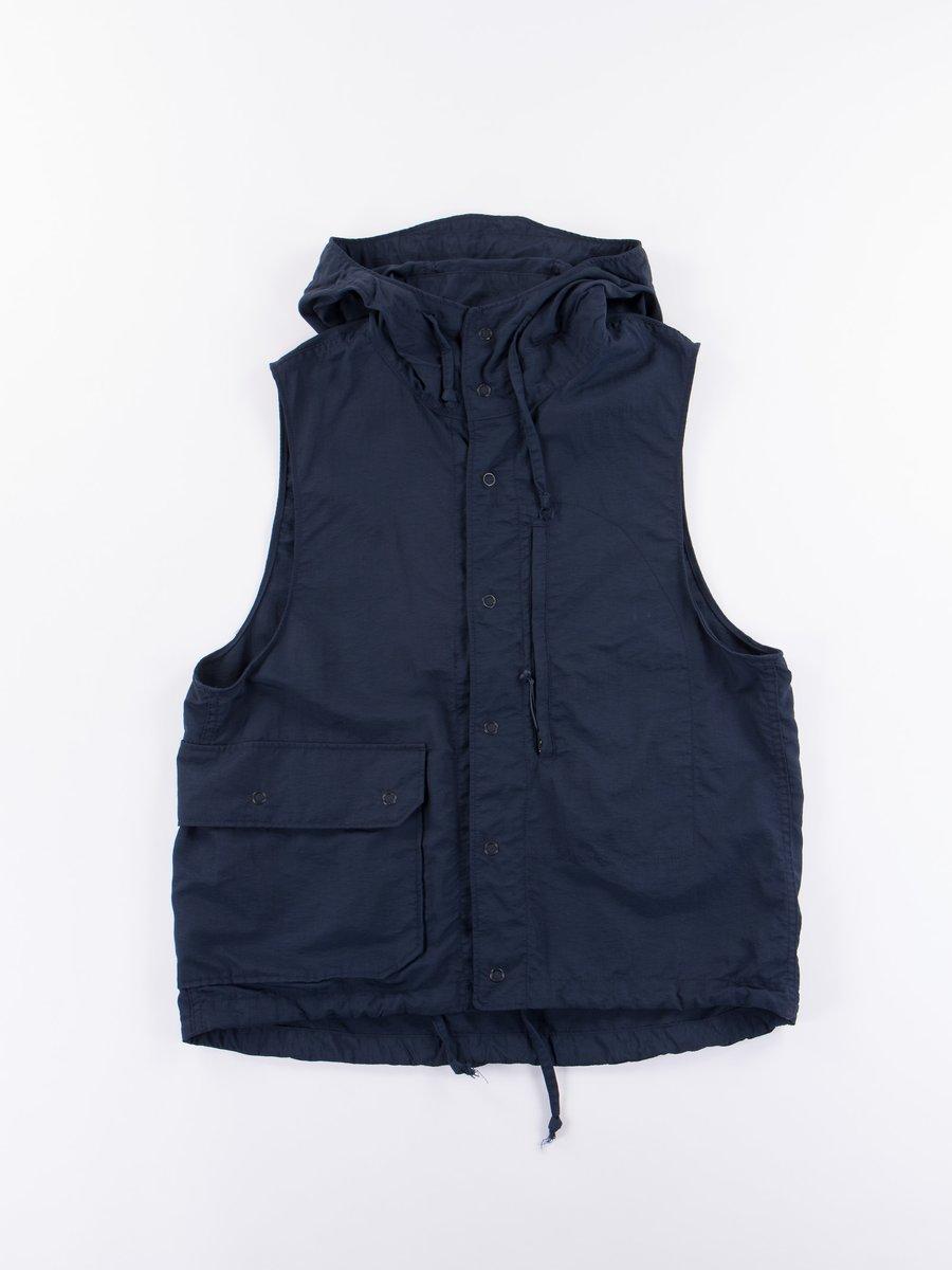 Dark Navy 4–Ply Nylon Taslan Field Vest